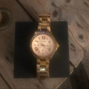 Fossil gold watches!